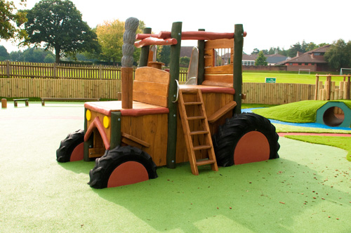 Dylan Group - Robinia Timber Tractor