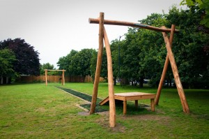 Ferring West Sussex Case Study - Play Area Improvements - Arun Dictrict Council - Hardwood Robinia Timber Play Equipment, Stockists, Posts, Planks, Boards