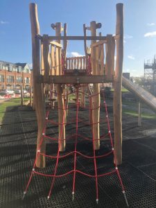 Hevelock Southall Completed Project - Hardwood Robinia Playground Equipment Manufacturer West Sussex East Sussex Surrey Hampshire London