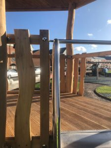 Hardwood Robinia Playground Equipment Manufacturer West Sussex East Sussex Surrey Hampshire London