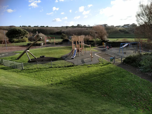 East Brighton Park Completed Project - Hardwood Robinia Playground Equipment Manufacturer West Sussex East Sussex Surrey Hampshire London