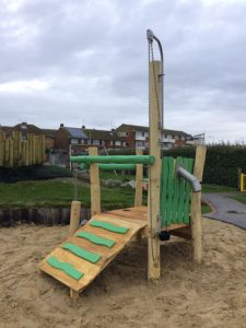 Newhaven Lewes District Council - Hardwood Robinia Playground Equipment Manufacturer West Sussex East Sussex Surrey Hampshire London