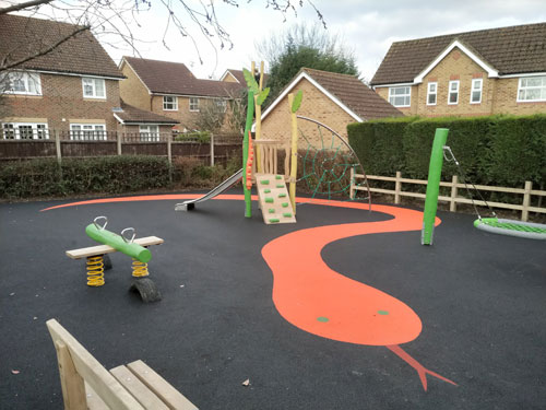 Wren Close Horsham DC Project - Hardwood Robinia Playground Equipment Manufacturer West Sussex East Sussex Surrey Hampshire London